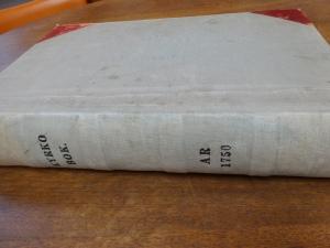 OldSwedesRecordBook1750