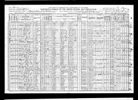 1910 Census Rees S Babb