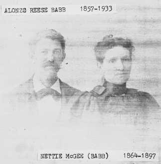 Alonzo Reese Babb & Nettie McGee