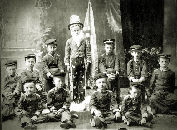 Franklin Cleveland Babb (aka Raymond James McKee)-School Play