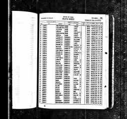Ohio, Deaths, 1908-1932, 1938-2007 - Reason Smith Babb