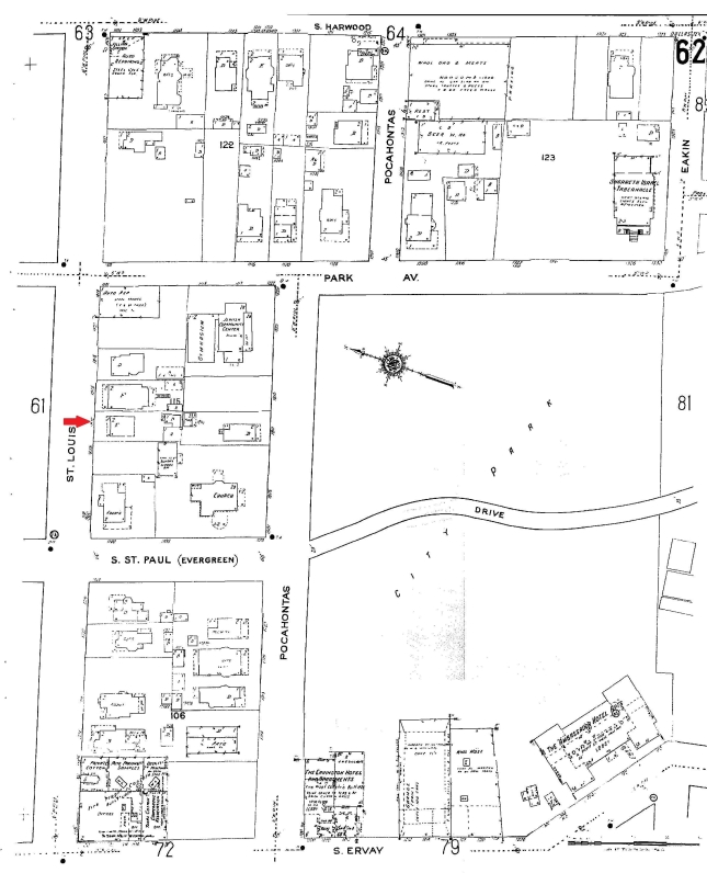 62 Sanborn Map 1921 - Edit