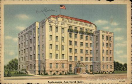 Ambassador Apartment Hotel Dallas
