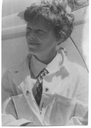 Charles Harding Babb Photo of Amelia Earhart