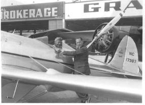 Charles Harding Babb Photo with Ryan Trainer