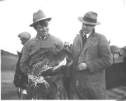Charles Harding Babb Photo with Will Rogers
