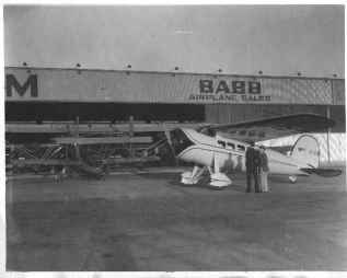 Charles Harding Babb with Howard Hughes