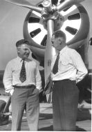 Charles Harding Babb with Wiley Post